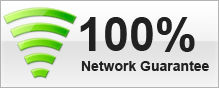 100% Network Guarantee
